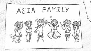 Asia Family by Leon12Wang