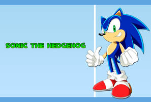 Sonic the hedgehog wallpaper 2 by Hinata70756