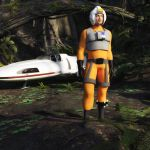 Pilot for Genesis 2 Male art by PdSmith by NVent3d