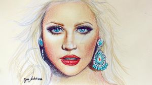 Christina Aguilera YB by jardc87