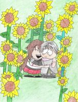 Field of Sunshine Request by BlueMew919