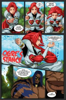 Ogre's Stance by strifehell
