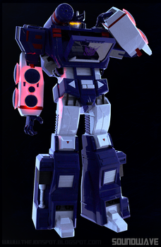 Soundwave by Lambator
