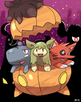 Happy Halloween by Pokemon-Marchocias