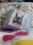 Totoro pillow by IamNasher