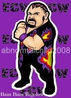 bam bam bigelow color by abnormalchild