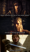 I'd Go After the Kingslayer by DrExtreme