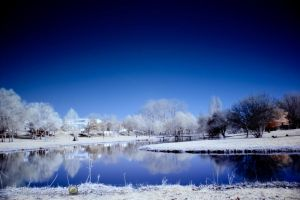 Lake view in Infrared by 10thapril