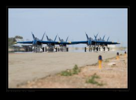 Blue Angels Taxi Back by jdmimages