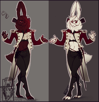 Imperial Hare coats by Smooshkin