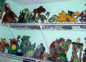 My Dragon Collection by TheWizardofOzzy