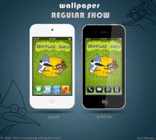 Wall Regular Show for ipod and iphone by ZeyToX