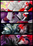 Megs and Screamer Face Off by ZippyLIES