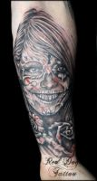Smiley Catalina by Reddogtattoo