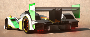 Lemans racer rear by aconnoll