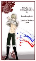 Hetalia No Uniforms 2 - Ivan by The-Spork-Alliance