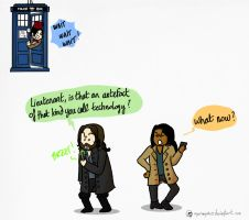 Time travelers and screwdrivers... by Dulcamarra