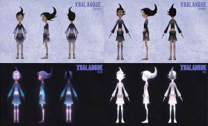 Xbalanque.Model Sheets by AdamRoush