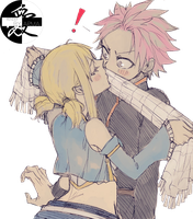 Couple Render 11: Fairy Tail (Natsu X Lucy) by armagaten