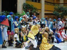 Group of Vocaloid by katriona-katarina