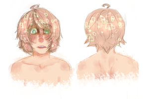 :Yandere!KIRAN headshots: by XturtleXmonkeyX