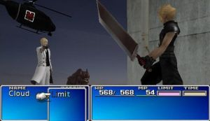 Confronting Rufus FFVII Ingame Version =P by ZakkenSebern