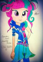 Sour Sweet! Equestria Girls Friendship Games MLP by Sunset-Dasher