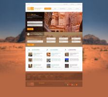 Tour Operator Website 02 by Magableh
