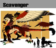 Scavenger reference sheet by ZzNightmareGirlzZ