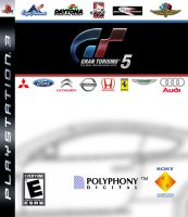 Selfmade Gran Turismo 5 Boxart by GTAce