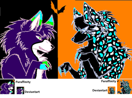 Halloween icons by aquaheartthecat