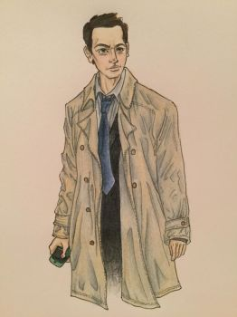 Castiel by amberthought