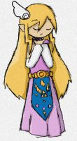 Princess Zelda collab by Astralstonekeeper