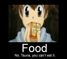 Tsuna's New Snack by DarkAngel8980