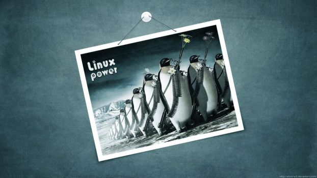 Linux power #1 by alkore31