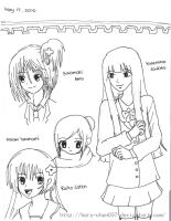 random ANiME GiRL by haru-chan037