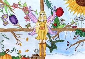 Season Fairy - finished by Himmelsblau
