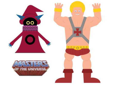 He-Man and Orko, Assembled by haydenyale