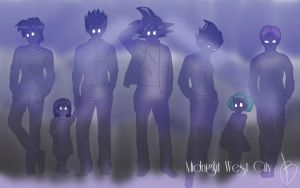 Midnight West City by Captain-Momo