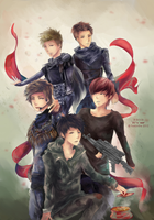 MBLAQ: It's War by Fiveonthe