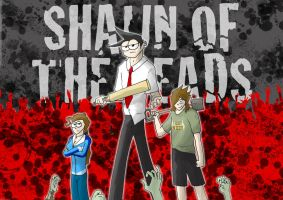 Shaun of the deads by Vaan-Midlad