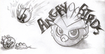 The Little Angry Fireball by KasaraWolf
