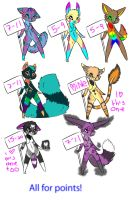 anthro adoptables by opaleyedwolf