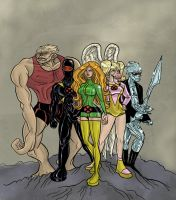 X-Men by The-Mirrorball-Man