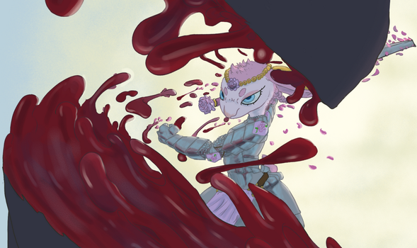 Knight of Flowers by OverlordPatsy