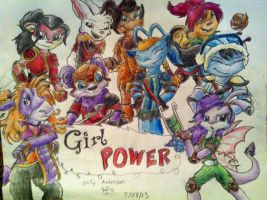 Neopets - Girl Power by 1smoothie7