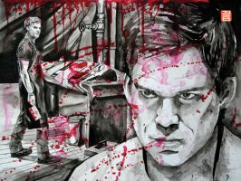 Dexter Morgan by jonbruns