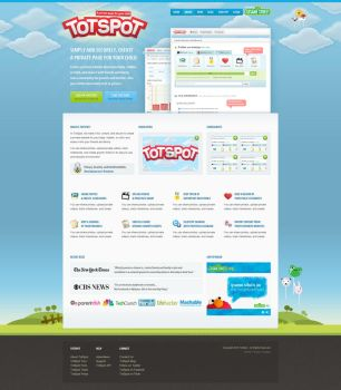 TotSpot Design by ormanclark