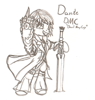 Dante DMC as a pony by ArdonSword