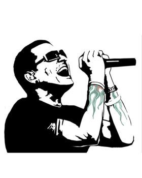chester bennington by Morphieous